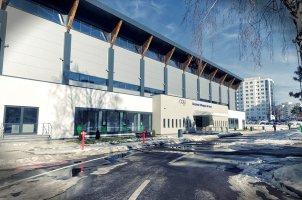 La piscine olympique de Brasov