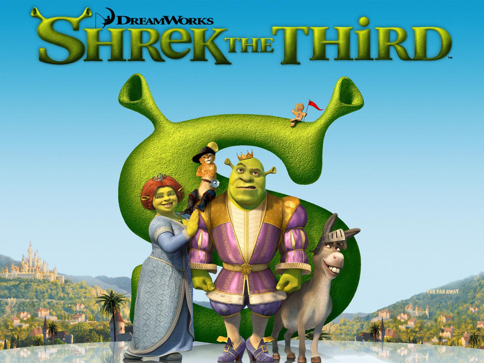 Matineu copii - Shrek al Treilea/  Shrek the Third (2007)