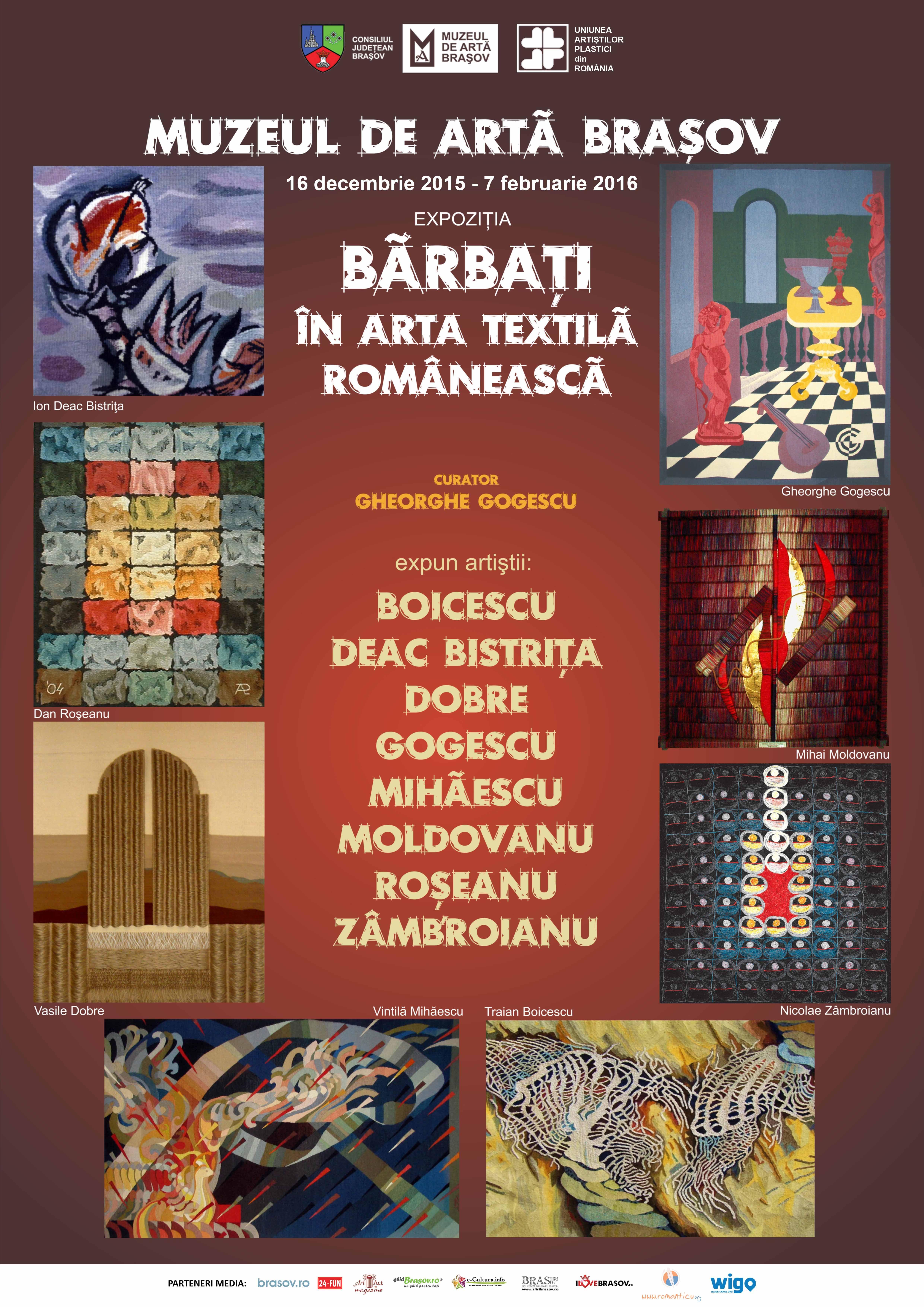 Bărbaţi în arta textilă românească