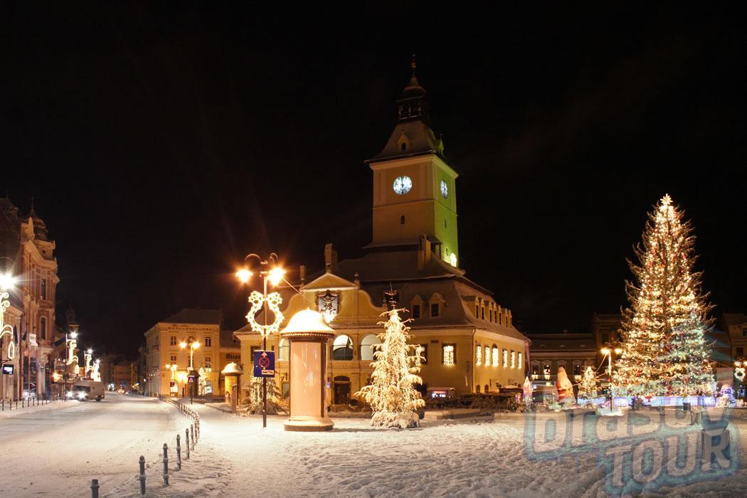De Craciun , in Brasov