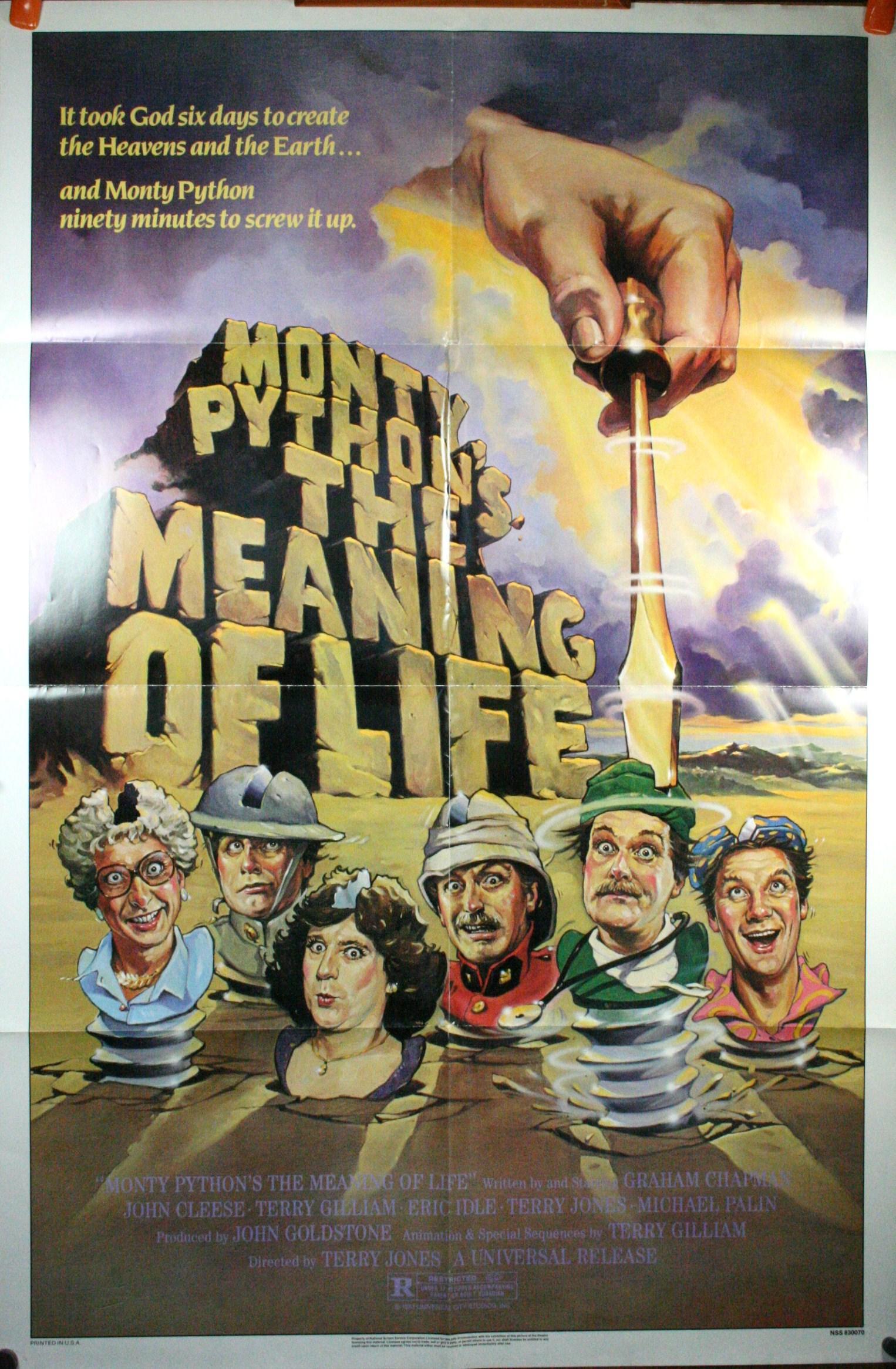 Film Cult (special Terry Gilliam) Monty Python: Înţelesul vieţii /  The Meaning of Life (SUA, 1983)