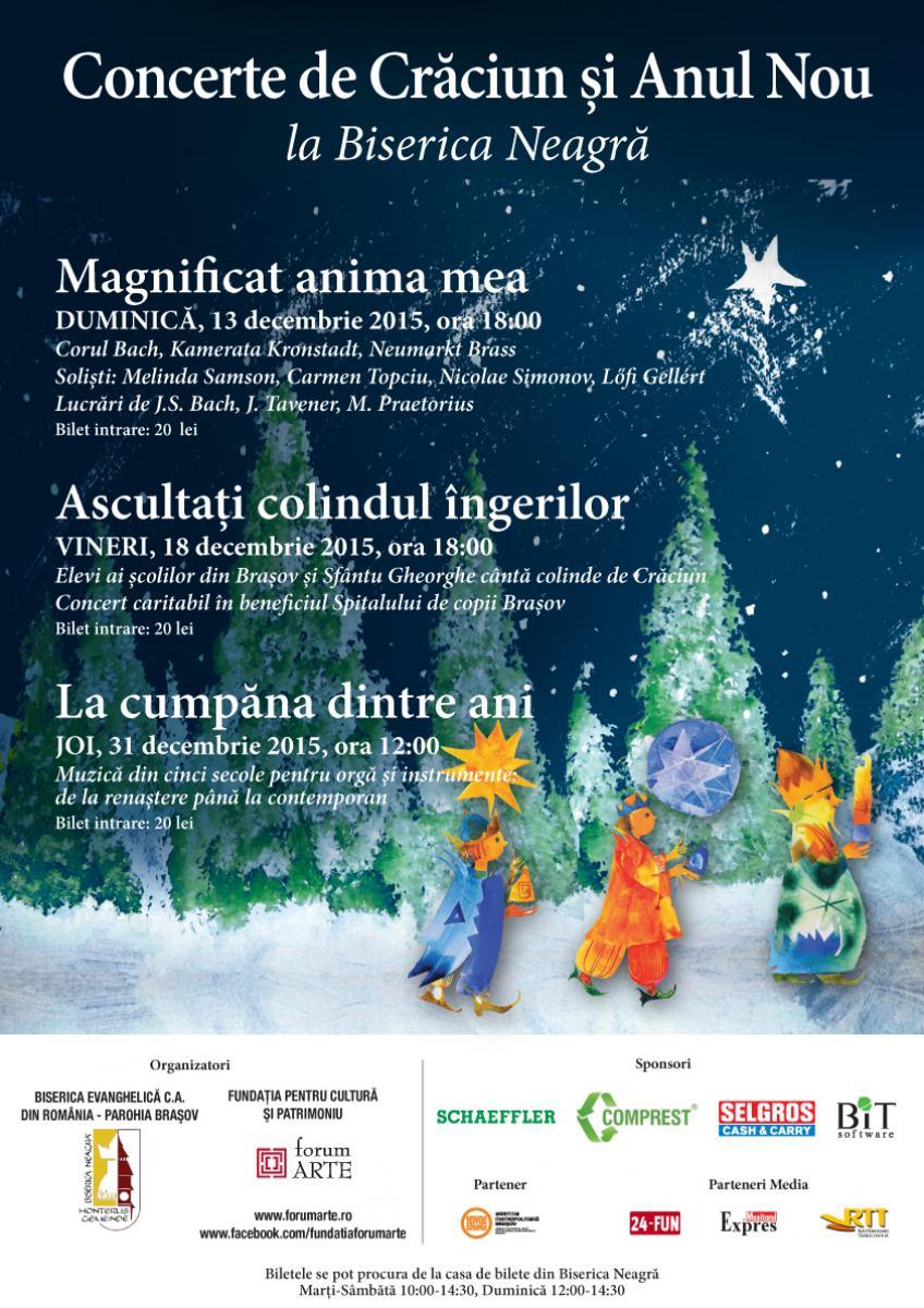 """""""Magnificat anima mea""""- Concert de Crăciun"""
