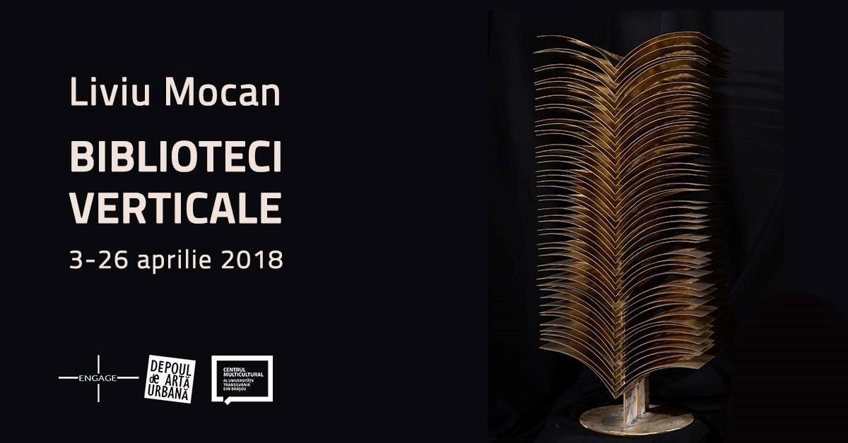"""Expoziţia """"BIBLIOTECI VERTICALE"""" - Liviu Mocan"""