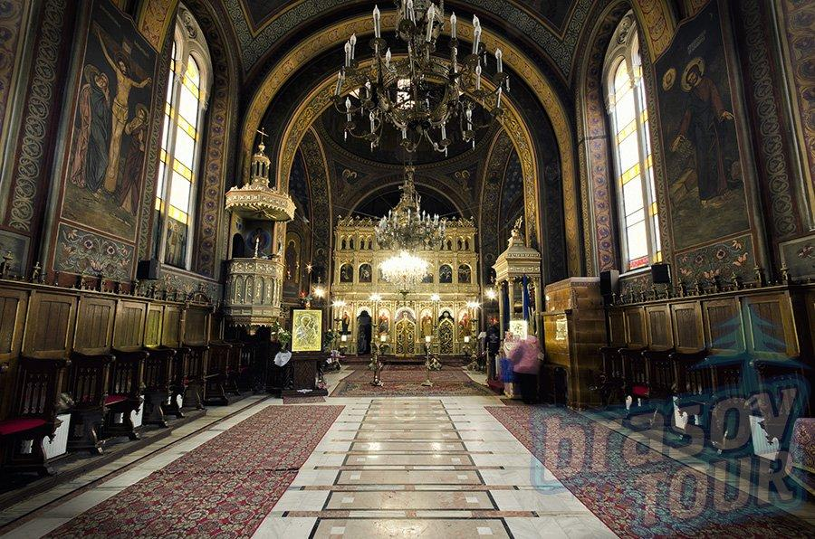 La cahtédrale Orthodoxe Assomption de la Vierge