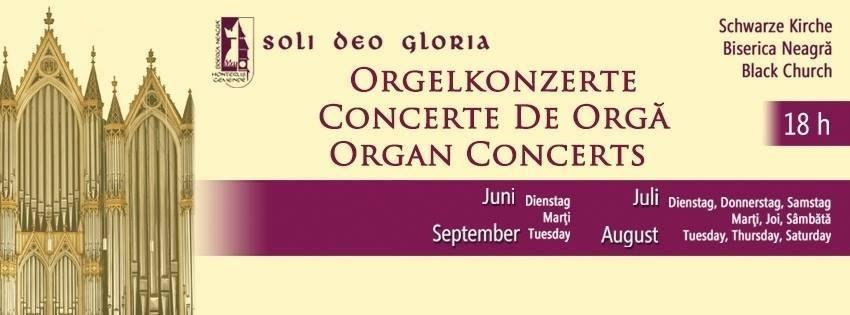 Stagiunea concertelor de orgă