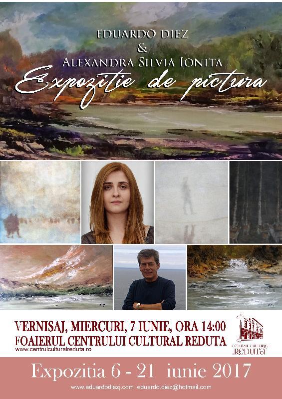 Expoziţia de pictură a artiştilor Eduardo Diez (Madrid) şi Alexandra-Silvia Ioniţă (Braşov)