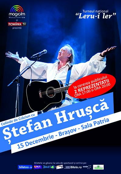 Colinde de Craciun cu Stefan Hrusca - Brasov