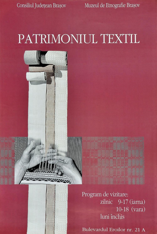 """Expoziţia permanentă: """"Patrimoniul textil"""""""