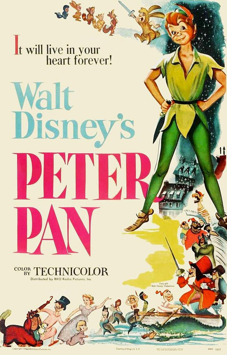 Matineu copii - Peter Pan (SUA, 1953)