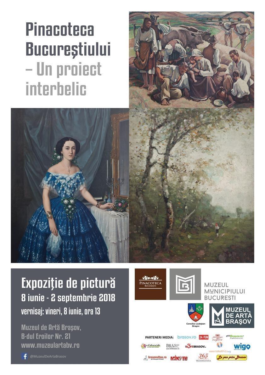 """Expoziţia temporară:""""Pinacoteca Bucureştiului. Un proiect interbelic"""""""