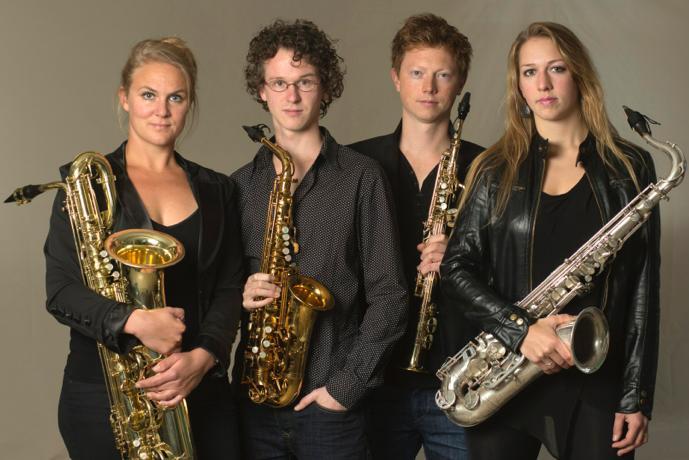 Concert de Crăciun   Berlage Saxophone Quartet