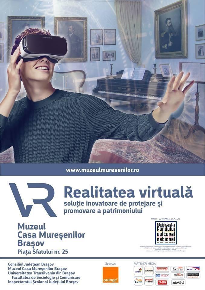 """Expoziţia permanentă: """"Istoria Familiei Mureşenilor"""" îmbunătățită cu elemente de realitate virtuală realizate în cadrul proiectului cultural """"Realitatea virtuală-soluție inovatoare de protejare și promovare a patrimoniului"""""""