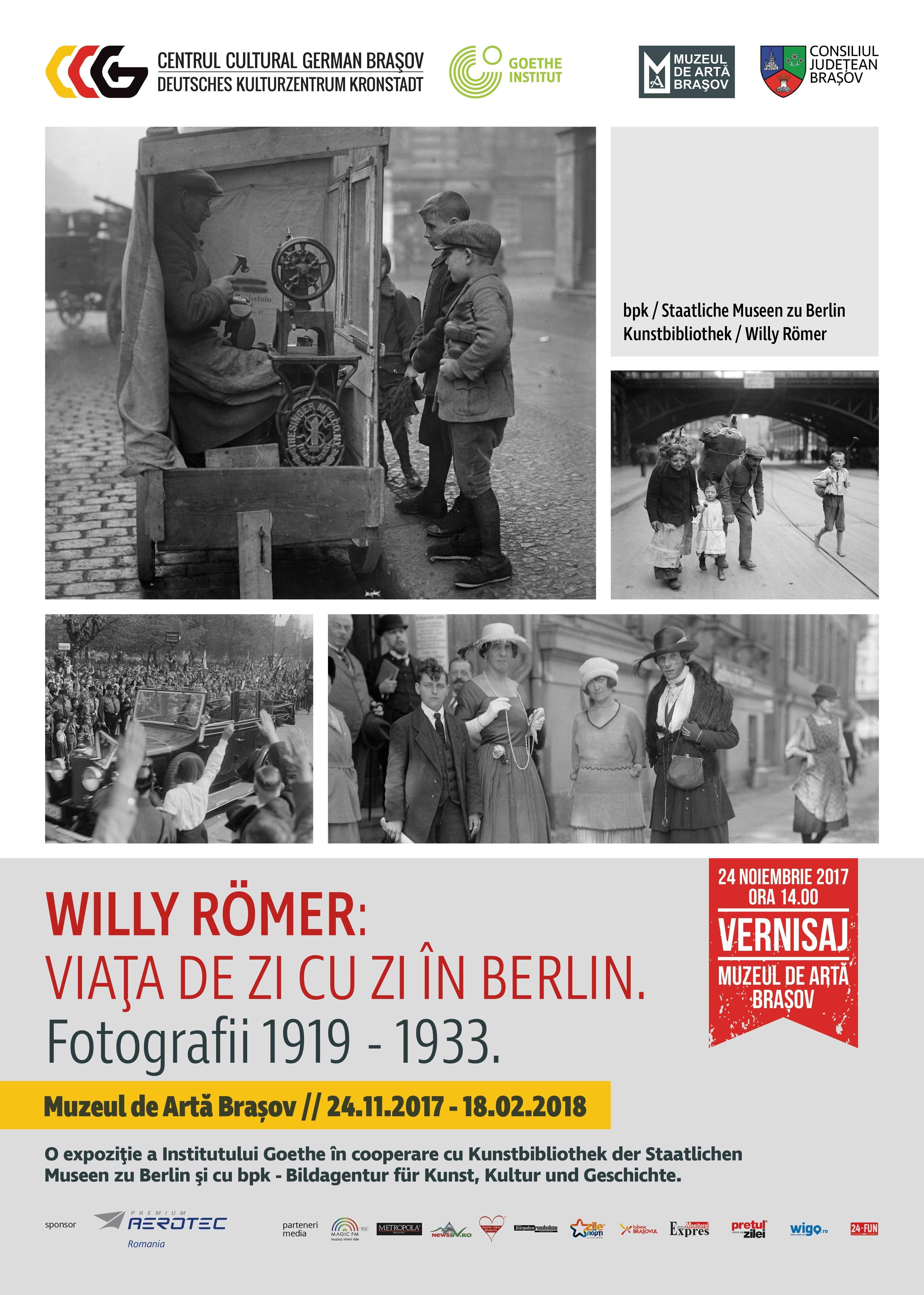 Expoziţia de fotografie: Willy Römer: Viaţa de zi cu zi în Berlin.